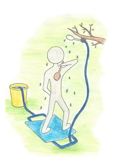 Дачный переносной душ Топтун Степ хорошая вещица если нет водопроводной воды
