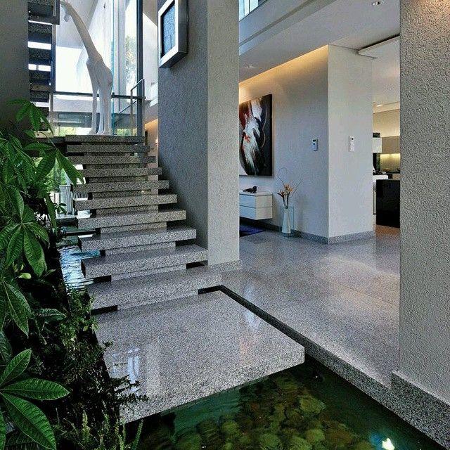 Creativo #moderno #diseño de #escalera la cual nace dentro ... - photo#33