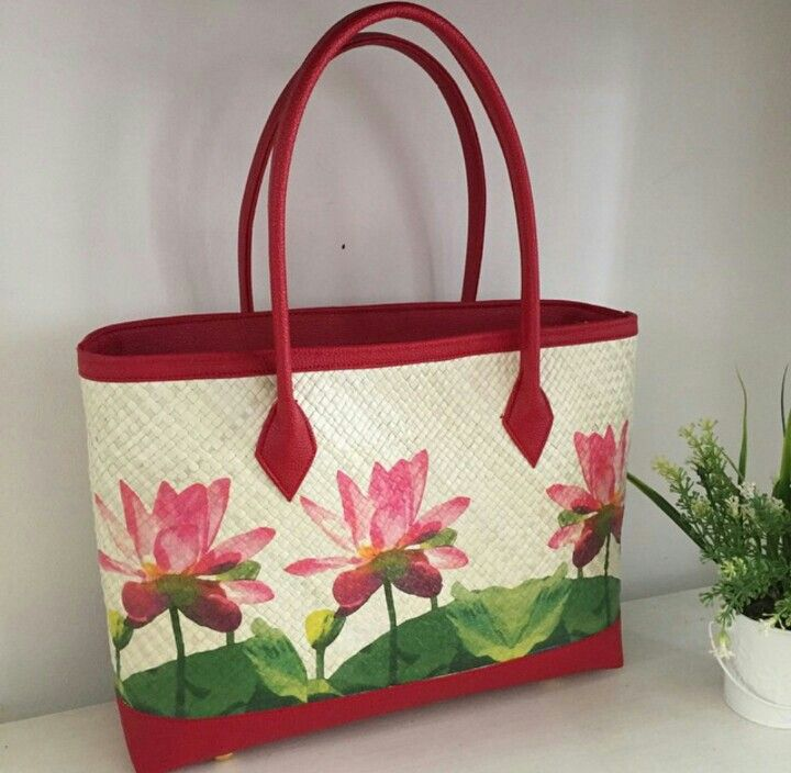 Kerinci Painting - Woven Bag