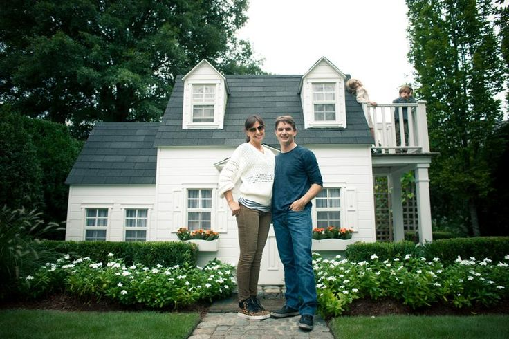 At Home With Jeff Gordon and Ingrid Vandebosch.Ella's dollhouse