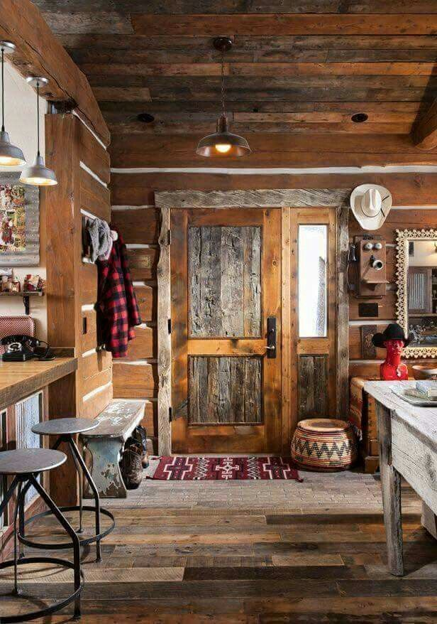 4840 best images about cabins and rustic decor on for Montana rustic accents