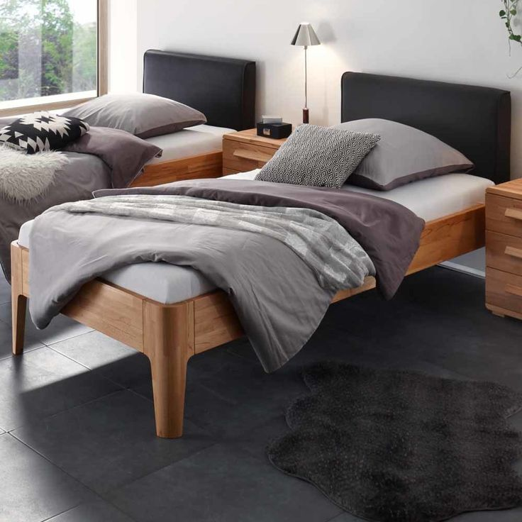 die besten 25 holzbett ideen auf pinterest holzbetten. Black Bedroom Furniture Sets. Home Design Ideas