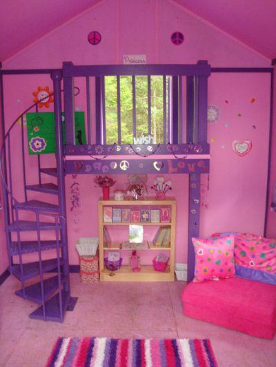 playhouse! so cute my future little girls bedroom