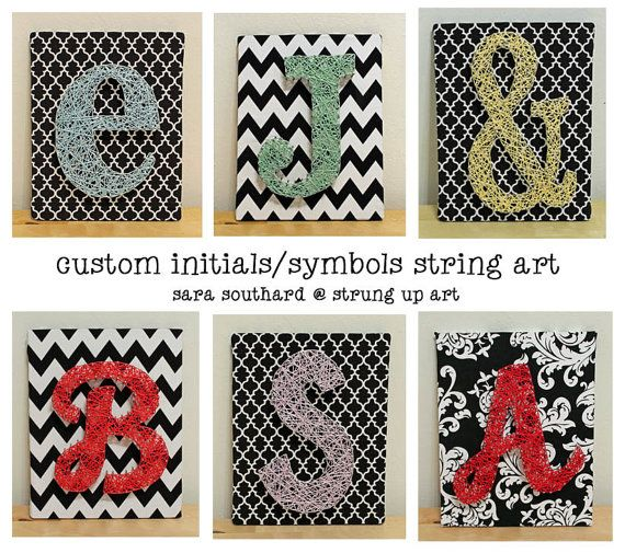 letter string art patterns
