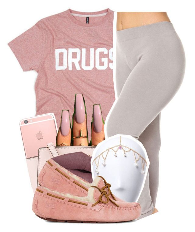 """Untitled #111"" by trapsoul4life ❤ liked on Polyvore featuring MICHAEL Michael Kors and UGG"