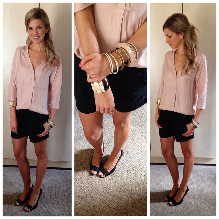 Shorts and wedges