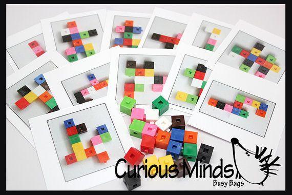 Sac occupé : Snap bloc Patterns options par CuriousMindsBusyBags