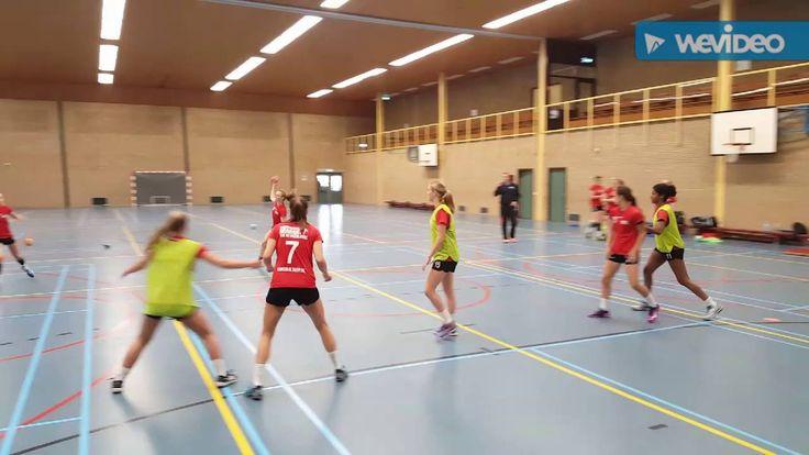 Trainingsdag Handbalschool Brabant meisjes B - 18 juni 2016