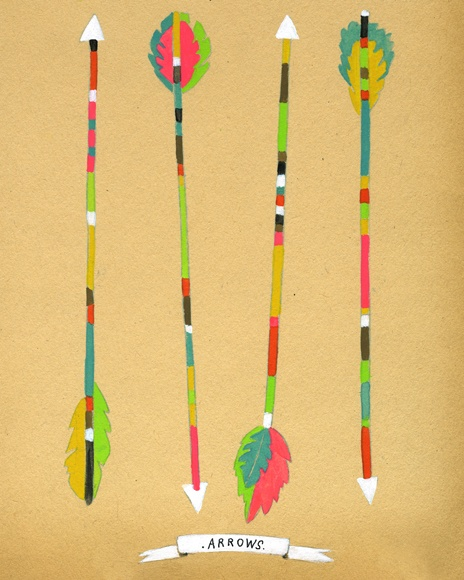 arrows, by lisa congdon