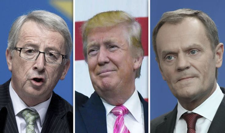 JEAN-CLAUDE Juncker and Donald Tusk have invited newly elected US president Donald Trump to a EU-US summit in a desperate attempt to re-start TTIP negotiations.