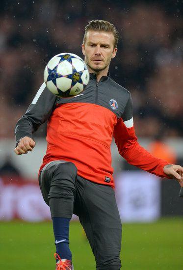 Soccer stud David Beckham