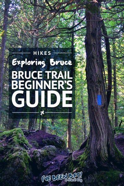 I've Been Bit! A Travel Blog :: Bruce Trail Beginner's Guide | Ontario, Canada, Hiking, Travel, Beginner's Guide, Niagara Escarpment, Tips, Hiking Trail, Explore the Bruce, Grey County, BruceGreySimcoe, Hamilton, Halton, Brant, City of Hamilton, Tobermory, Queenston, Niagara Region |