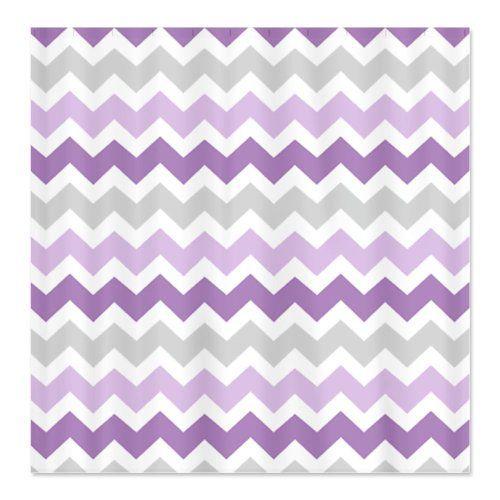 Grey And White Chevron Shower Curtain. Best Purple Chevron Shower Curtain 47 best images on Pinterest
