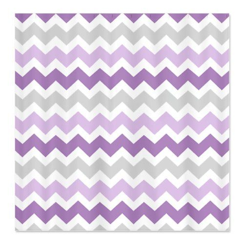 47 best images about purple chevron shower curtain on
