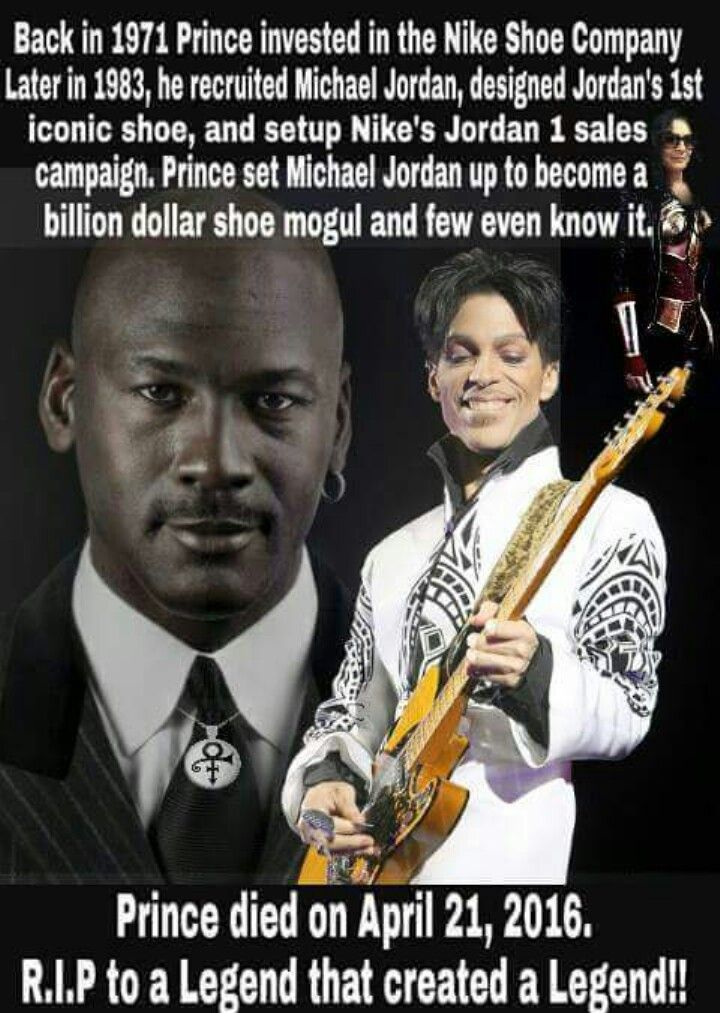Michael Jordan and Prince