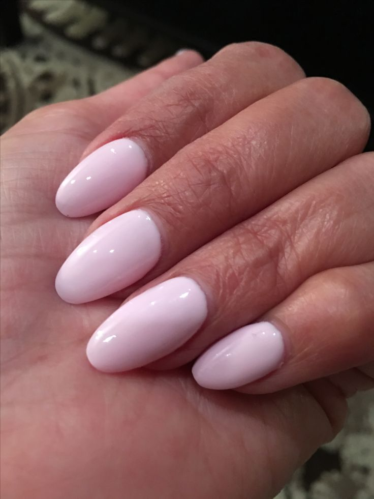 Pastel pink almond nails :) in 2019 | Pastel pink nails ...