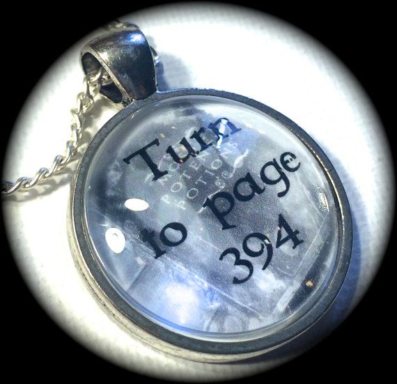 TURN TO PAGE 394 .. GLaSS PeNDANT NeCKLACE .. by girlgamegeek, $11.11