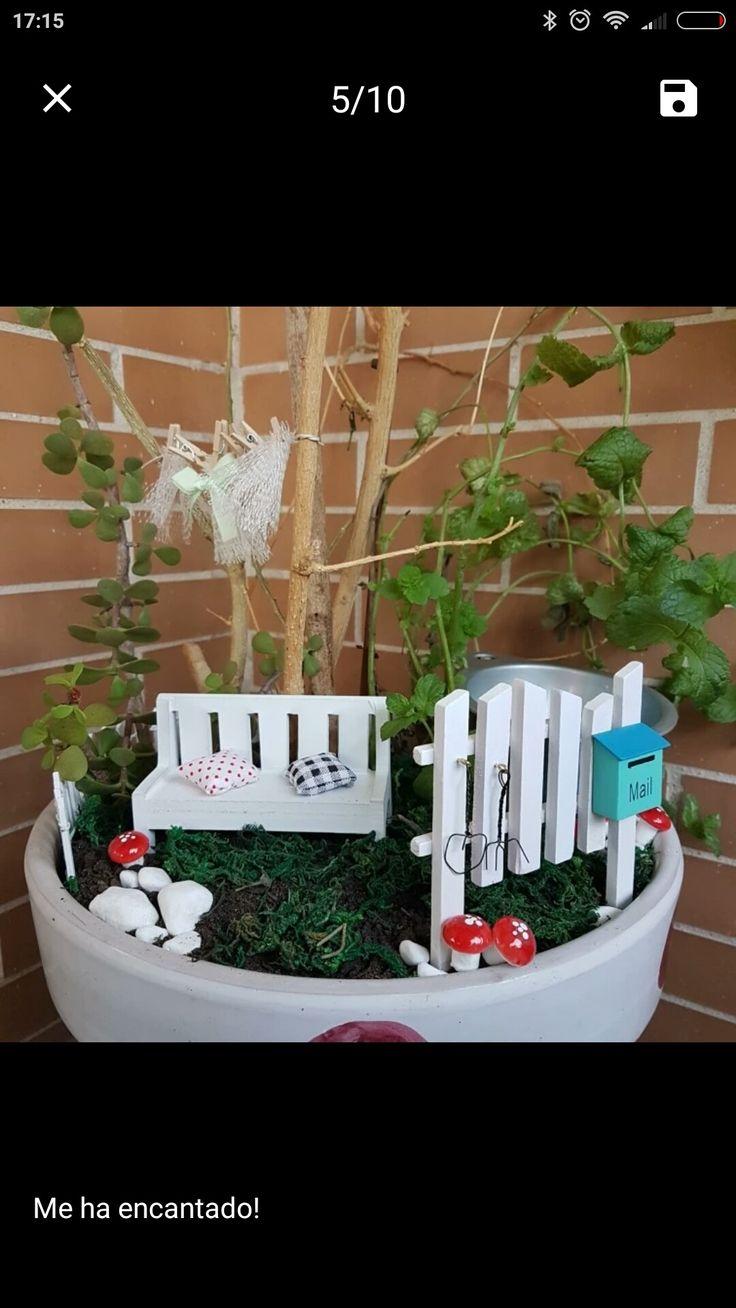 Mejores 55 im genes de accesorios para m ni jardines en - Accesorios para jardines pequenos ...