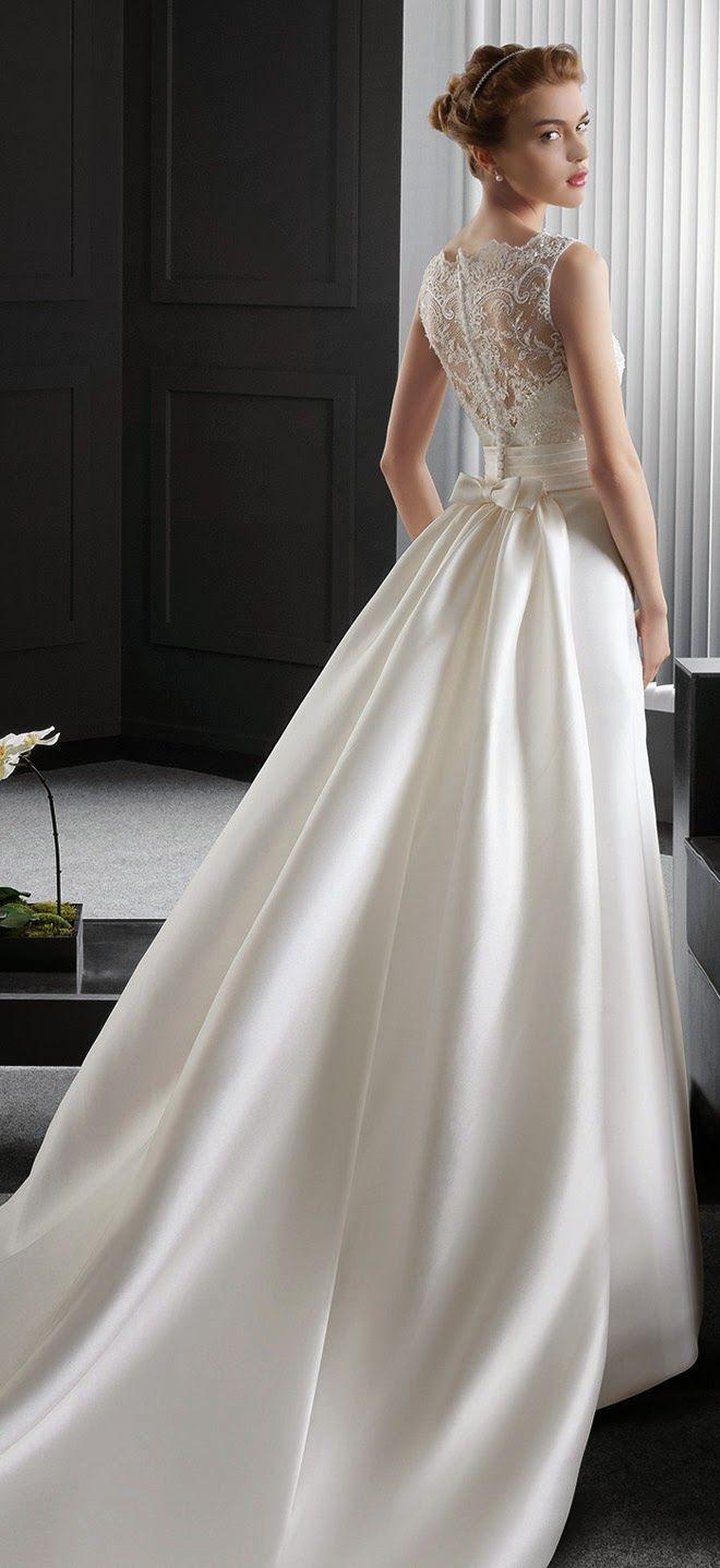 Two by Rosa Clara 2015 Colección Nupcial - Parte 2 - Belle Magazine. El Blog de la boda la novia sofisticada párrafo