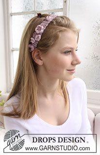 Free Drops Headband Crochet Pattern at http://www.garnstudio.com/lang/en/visoppskrift.php?d_nr=0&d_id=681&lang=us