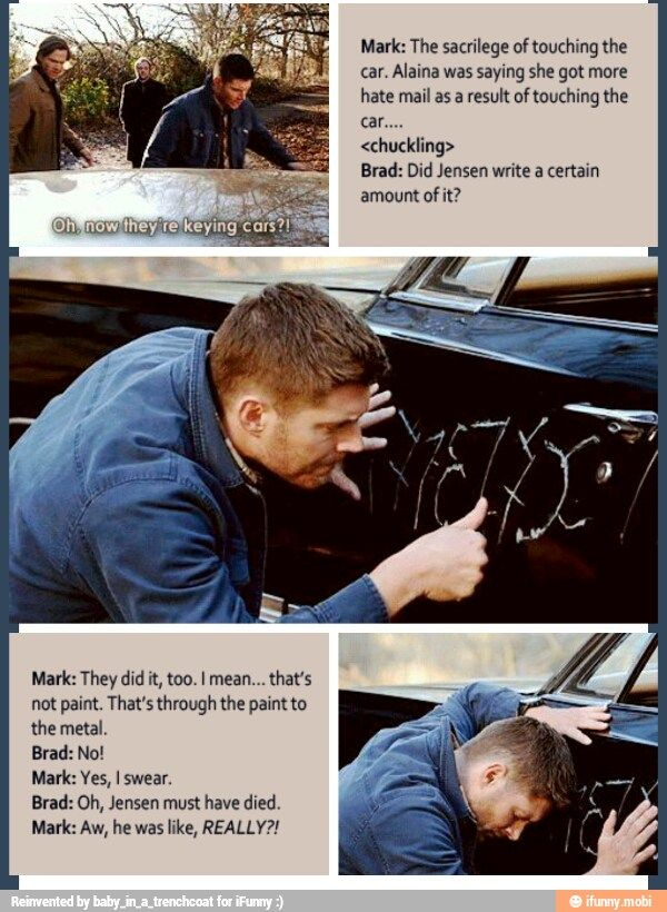 Jensen is Dean | Supernatural fandom