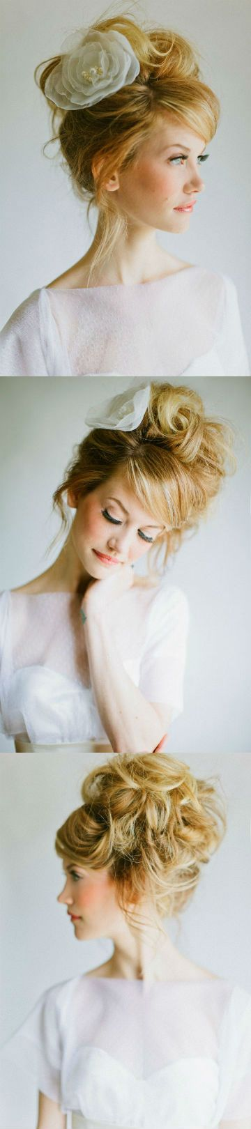 Wedding Messy Updo
