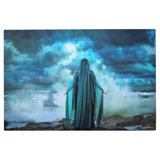 'Celtic Goddess Cessair' Fine Art Print on Metal
