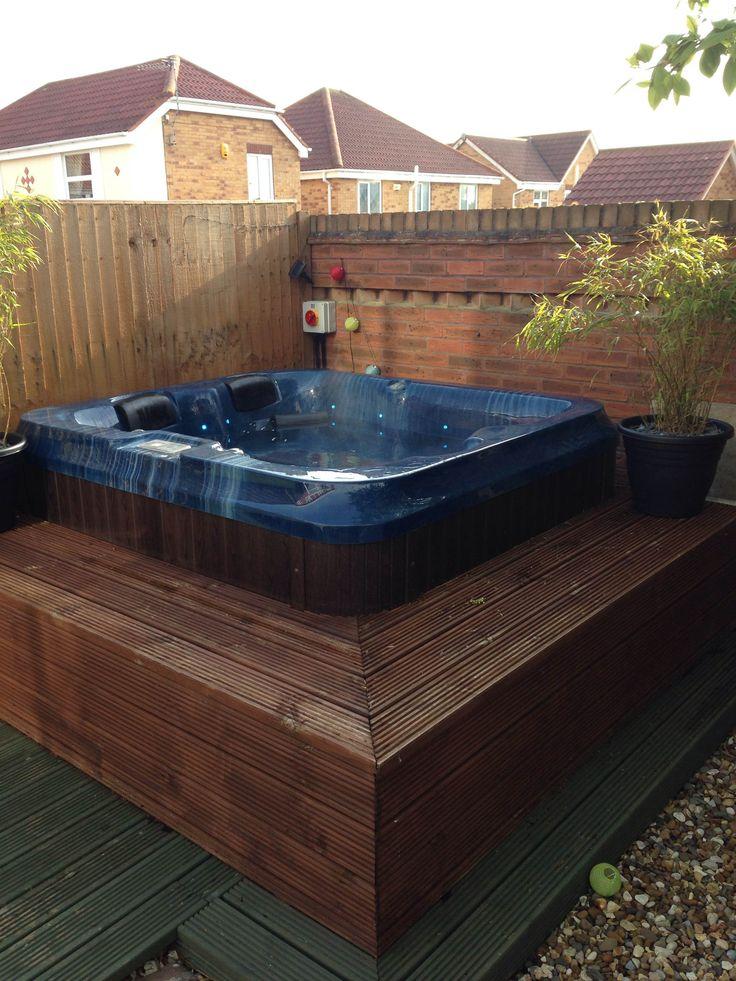 13 best HOT TUB images on Pinterest Whirlpool bathtub, Jacuzzi - whirlpool sichtschutz
