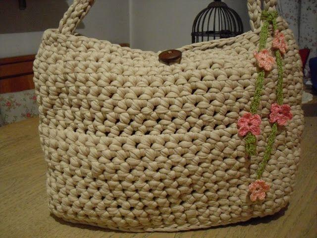 Le cose di Mirtilla : borsa in fettuccia