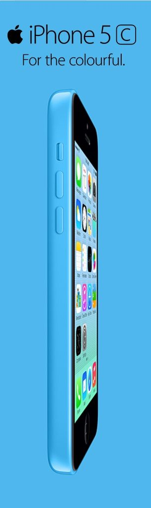 Blue iPhone 5C in all its glory! Make sure you compare the cheapest contract deals at http://www.phoneslimited.co.uk/Apple/iPhone+5C+16GB+Blue.html