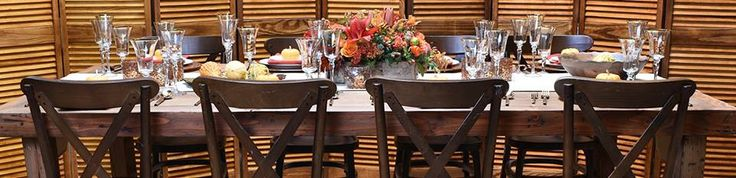 Create the perfect table to match your ‪Thanksgiving‬ entertaining style. (https://classicpartyrentals.com/theme/thanksgiving) #classic #party #rentals #thanksgiving #decor #family #event #rental #farmtable #wooden #chairs #tabletop #accessories #flatware #glassware #china #linen #runners #vineyard #chair #fall #event #classicparty #entertaining #style #rent #classicpartyrentals for #perfect #parties (https://classicpartyrentals.com/theme/thanksgiving)