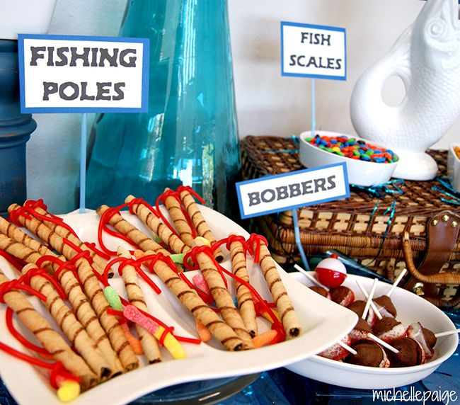 98 Best Fishing Birthday Theme Images On Pinterest: 25+ Best Ideas About Fish Party Foods On Pinterest