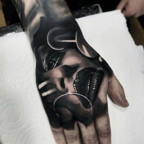 101 Best Hand Tattoos For Men Cool Ideas Designs 2020 Guide Hand Tattoos For Guys Hand Tattoos Full Hand Tattoo