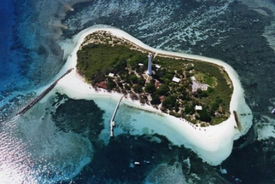 Phare Amédée. Amedee Lighthouse