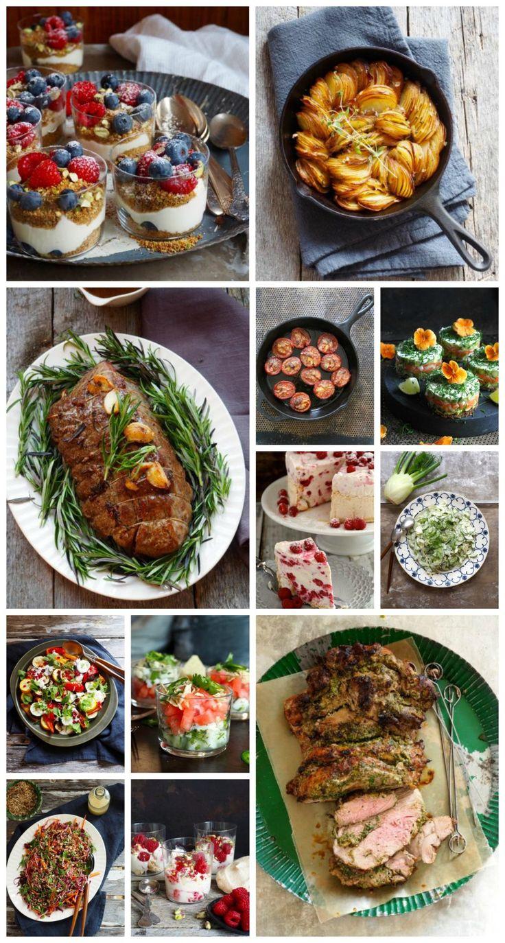 Skal du ha fest? Vet du ikke hva du skal servere? Her er 18 festmat oppskrifter - alt fra forrett, hovedrett, tilbehør og dessert. Sjekk de ut her!