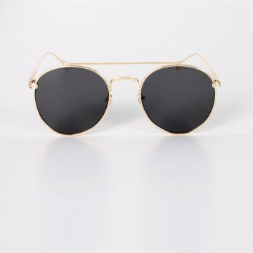 Vintage Güneş Gözlüğü - Siyah Cam