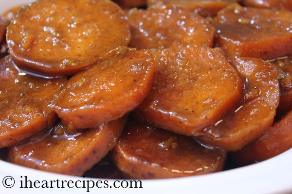 How to make Soul Food Style Baked Candied Yams. This makes a wonderful Thanksgiving side dish.