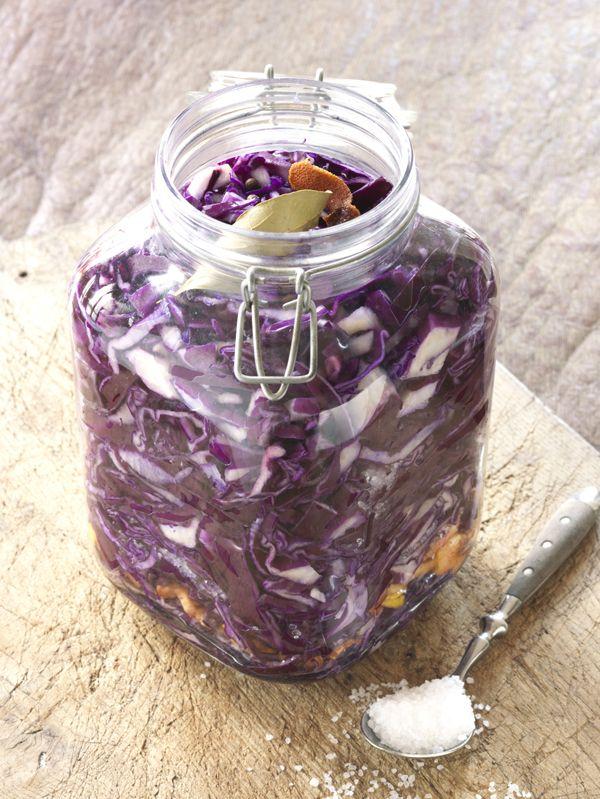 Ik heb om deze rode kool te fermenteren als ingrediënt foelie gebruikt maar u…