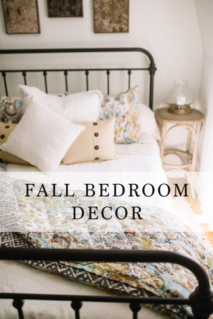 Fall Bedroom Decor 3 Simple Ways To Make Your Bed Lynzy Co