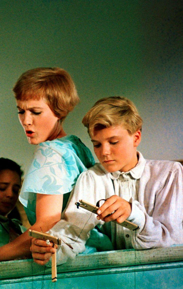 Julie Andrews & Nicholas Hammond ~ The Sound of Music, 1965