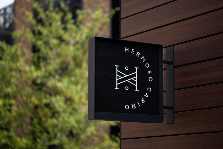 Brand identity and exterior sign for Mexican designer gift shop Hermoso Cariño by La Tortilleria, Mexico