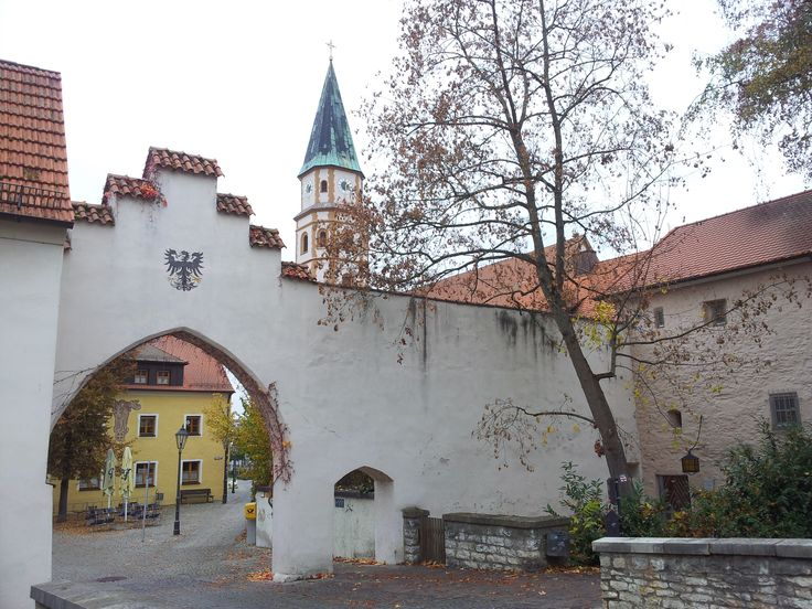 A city door to Neumark in der Oberpfalz