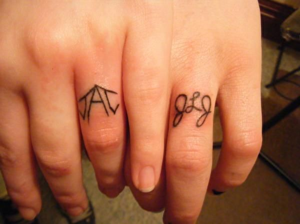27 Best Unique Wedding Ring Tattoos Images On Pinterest