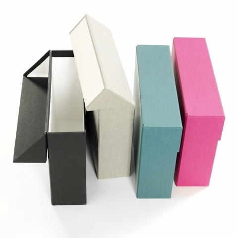 Portfolio storage from Book Binders Design (Swedish)