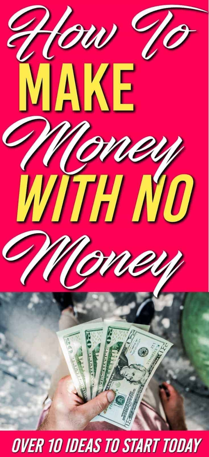 How to Make Money with No Money – Family Money Plan