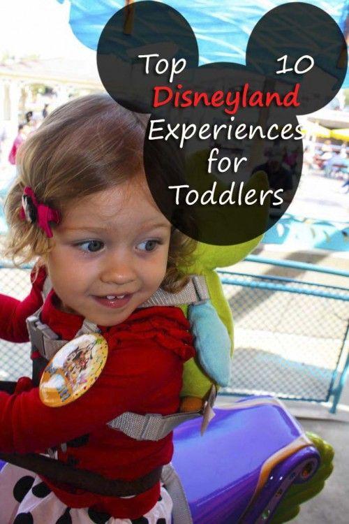 Top 10 Disneyland Experiences for Toddlers - Disney toddler travel bucketlist