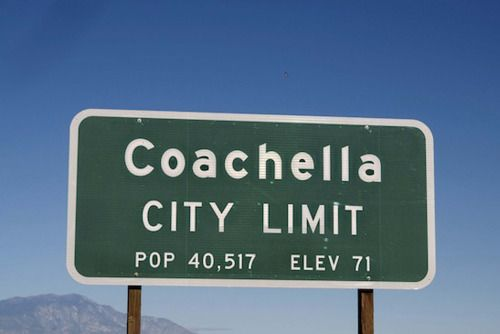 Welcome to Coachella.