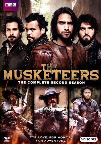 The Musketeers: Season Two [3 Discs] [DVD]