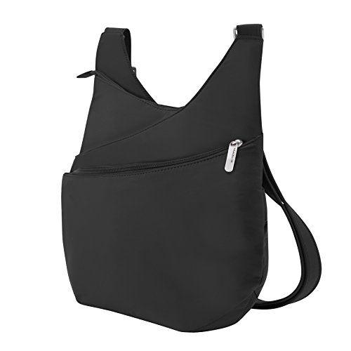 9 best bag borse on sale images on pinterest womens handbags travelon antitheft drape front shoulder bag black one size for more information visit fandeluxe Gallery
