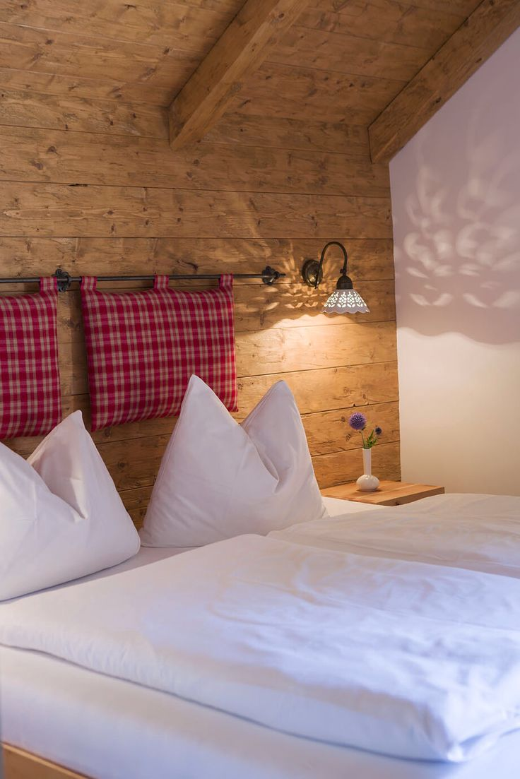 Schlafzimmer im Chalet // Bedroom in the chalet